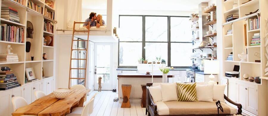 Делаем однокомнатную квартиру больше